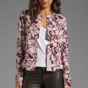 StyleStalker Pink/Purple Blazer Jacket Size 4